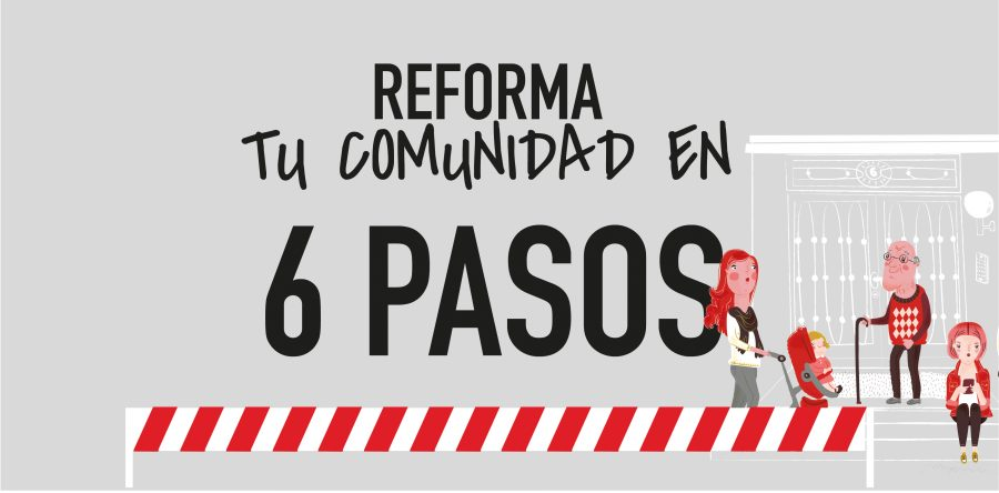 Contrata la reforma de tu comunidad en seis pasos