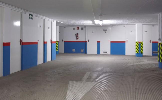 Rehabilitación de instalaciones del Parking del Arca