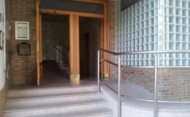 Reforma de portal en Heraclio
